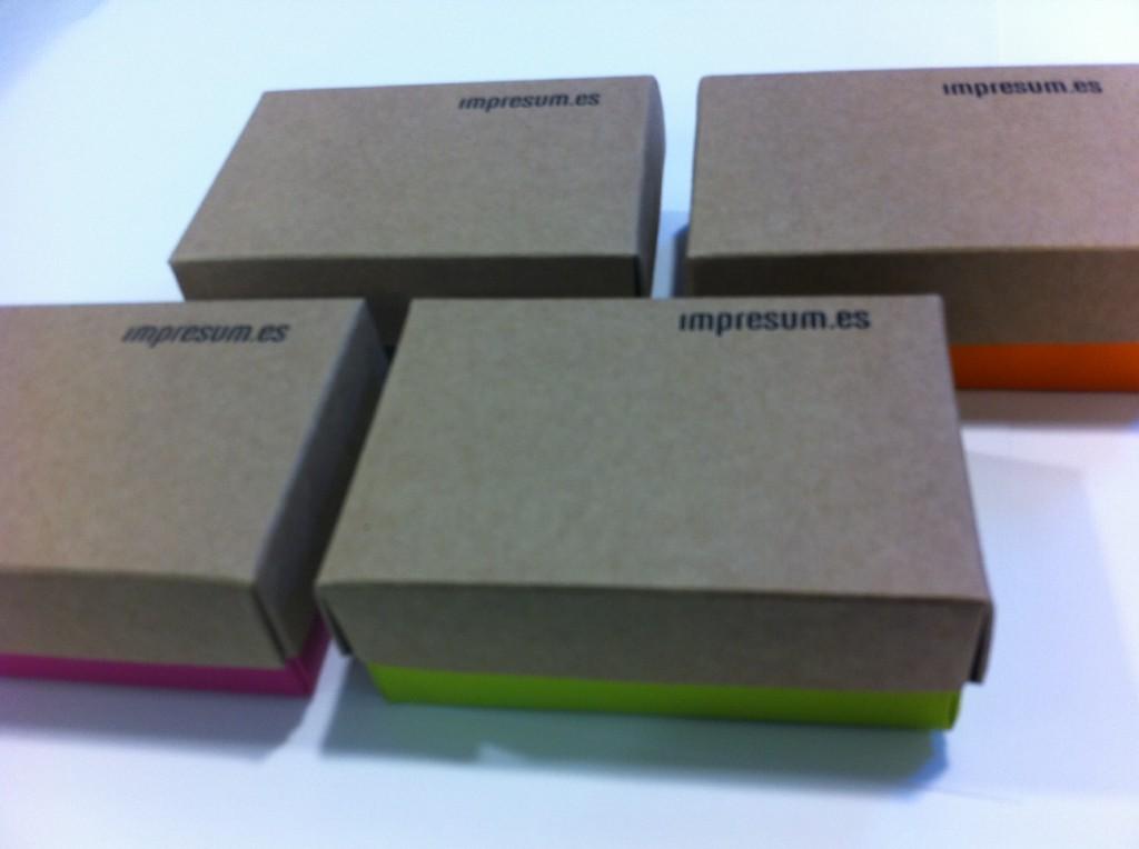 packaging más ecológico Impresum