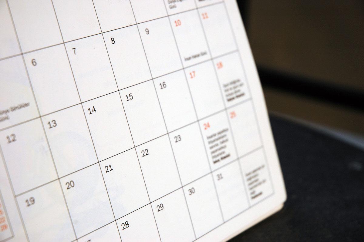 Impresión calendario 2013