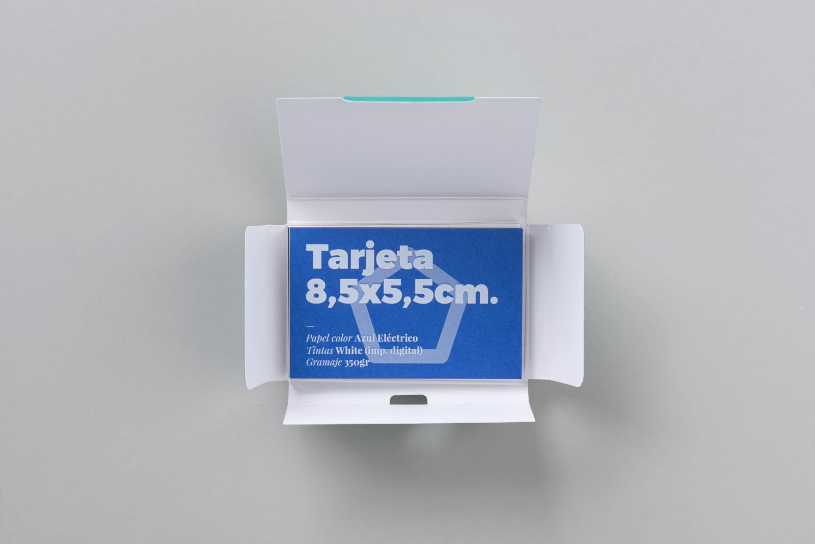 carpeta de muestras gramaje del papel