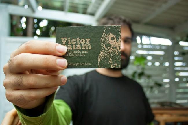 Tarjetas de visita Víctor Paiam
