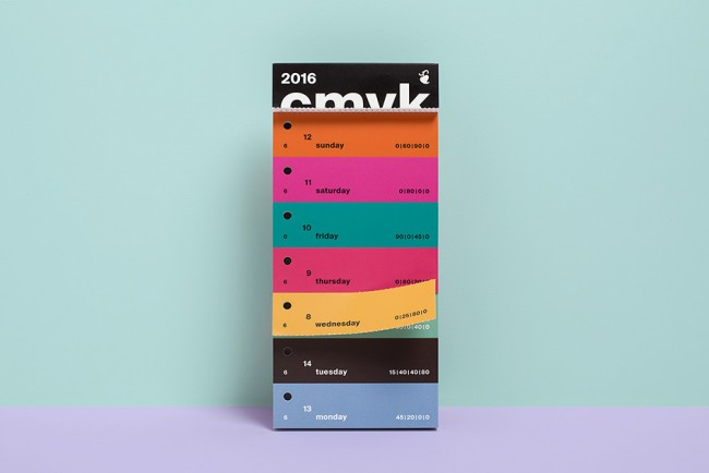 Color Swatch Calendar