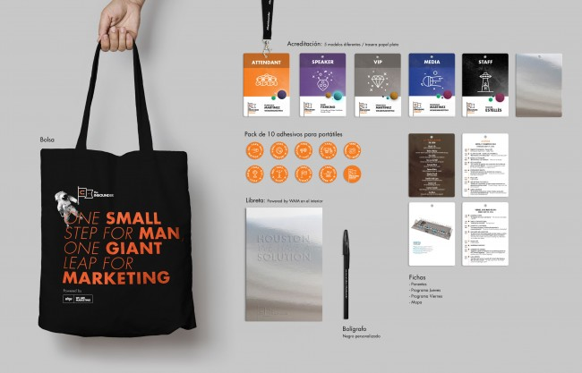 welcome pack realizado por imprenta profesional para The Inbounder