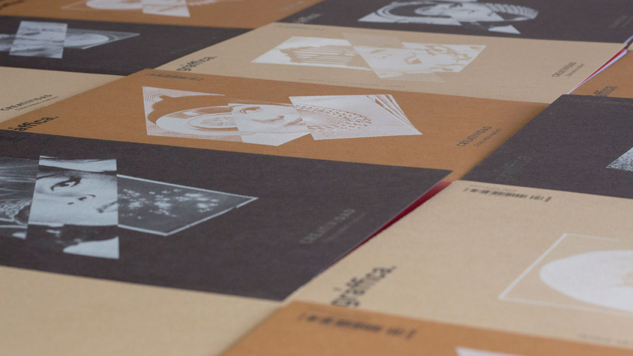 detalle de las portadas de Gràffica