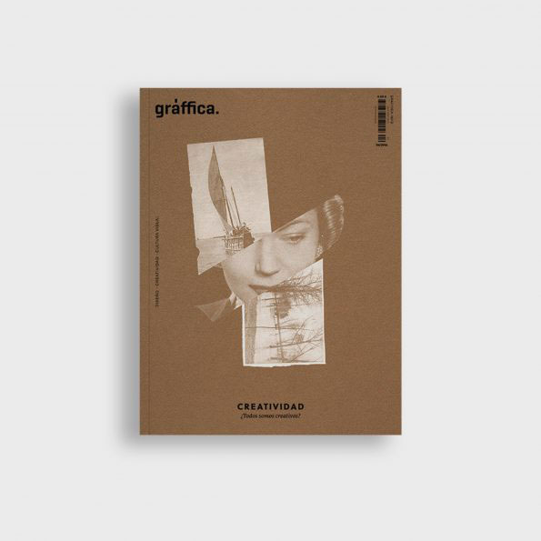Portada revista dedicada a la Creatividad