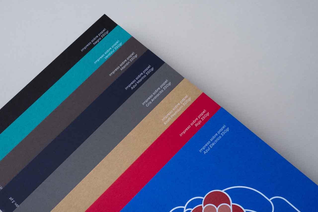 catálogo de papeles compatibles