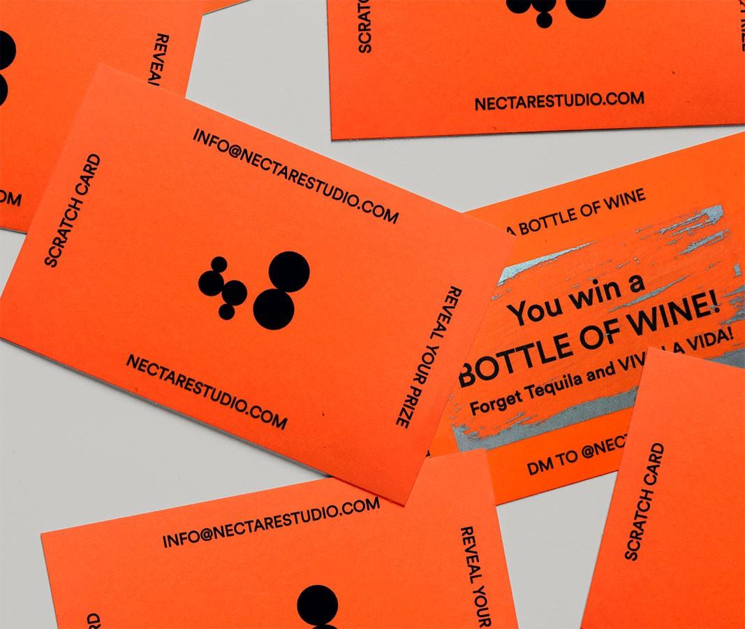 Tarjetas especiales con premio para los AWWWARDS NY
