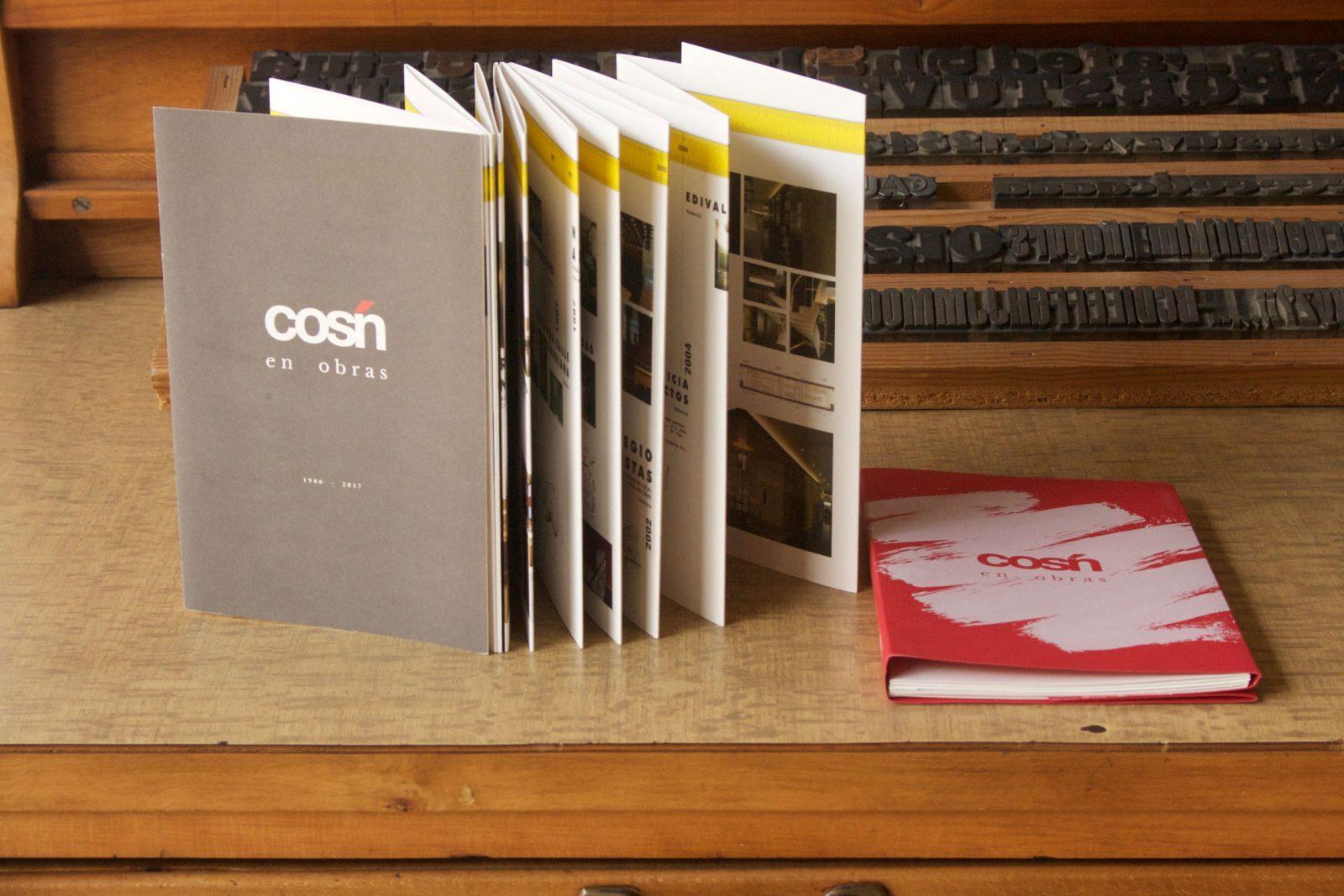Cosín: un libro catálogo resume más de 30 años de trayectoria
