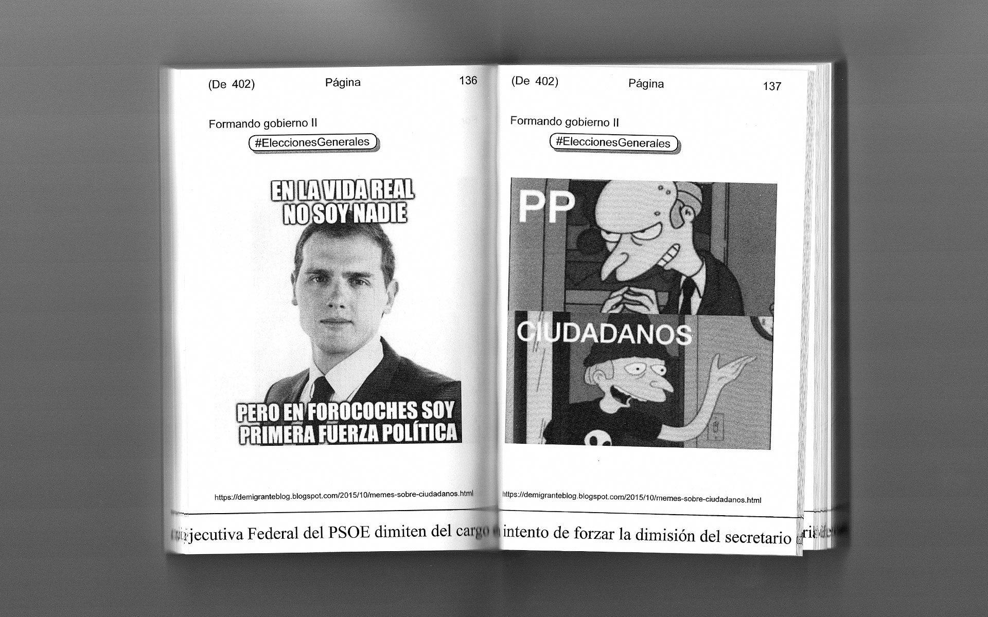meme de Albert Rivera y Ciudadanos