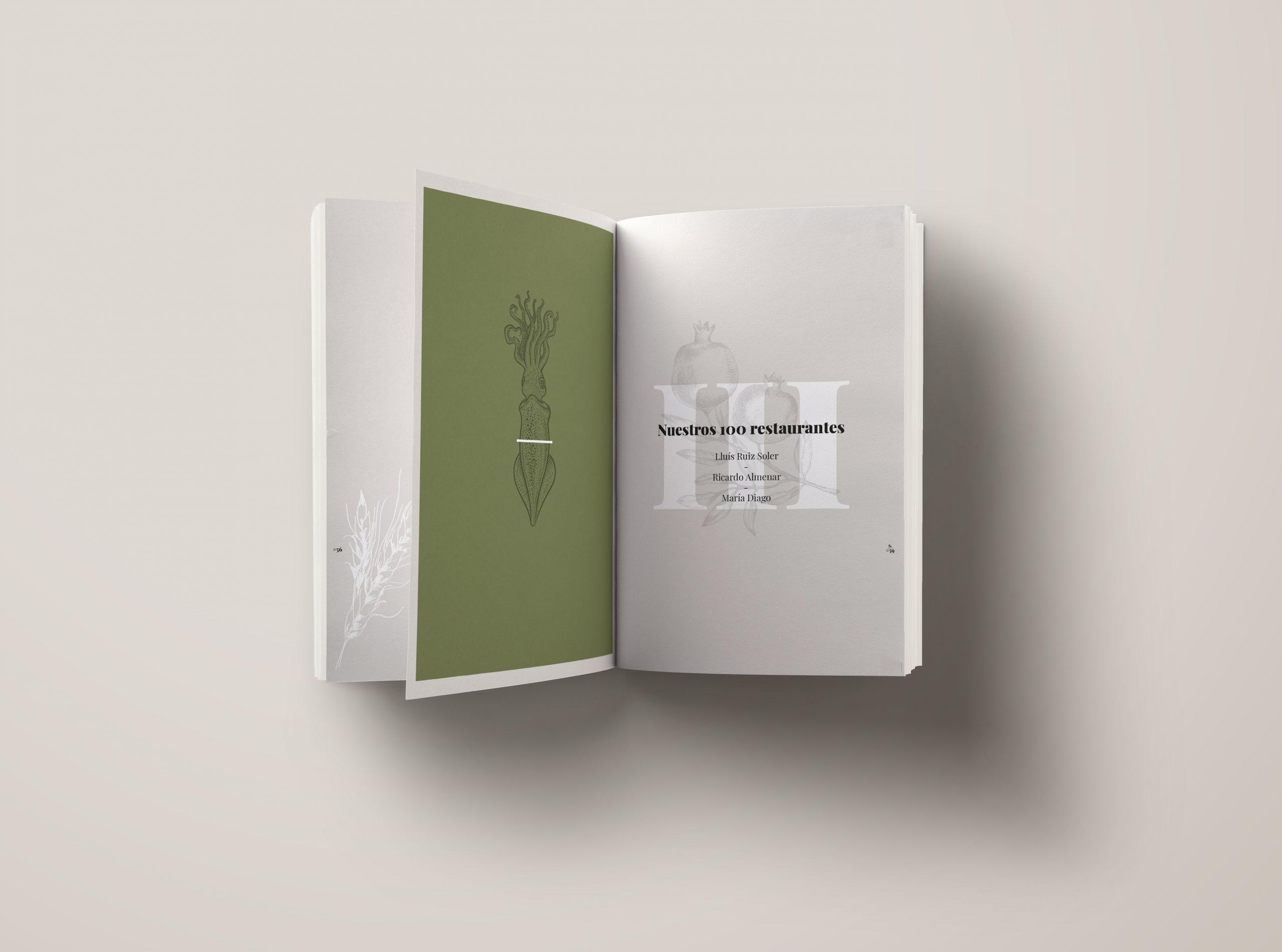 Impresión ecológica para una guía ecológica. Así es la guía Sustentable Interior libro - Guía sustentable de la Comunitat Valenciana