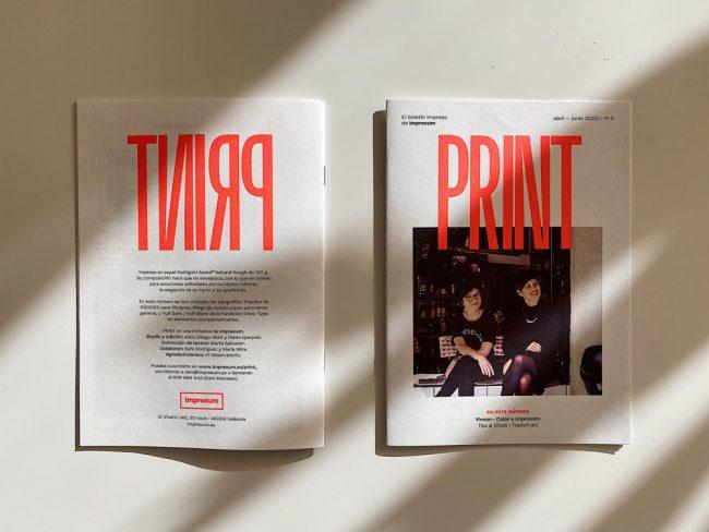 Este es el boletín impreso PRINT en PDF