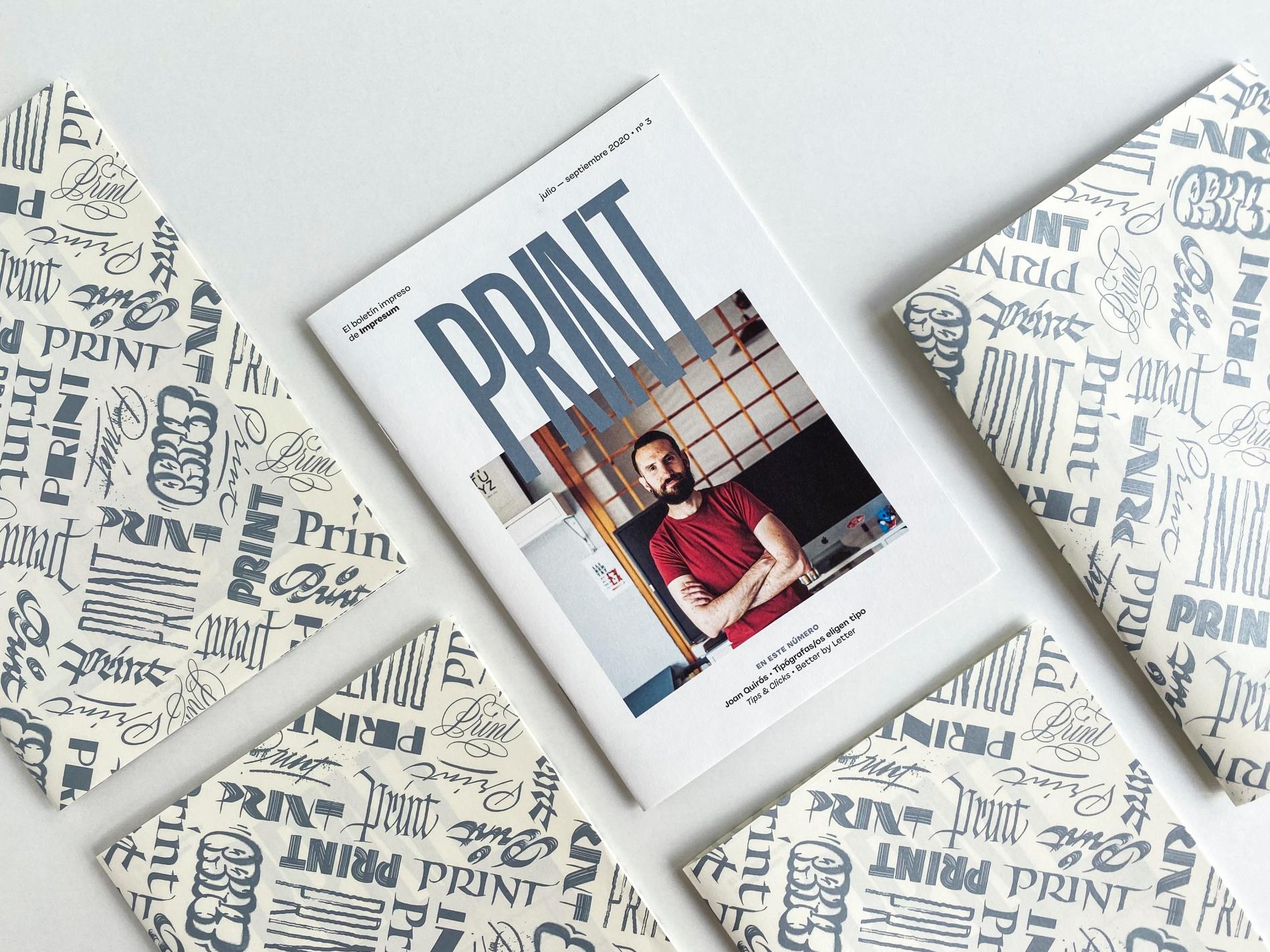 Llega PRINT 3 cargado de entrevistas, consejos y muchas letras