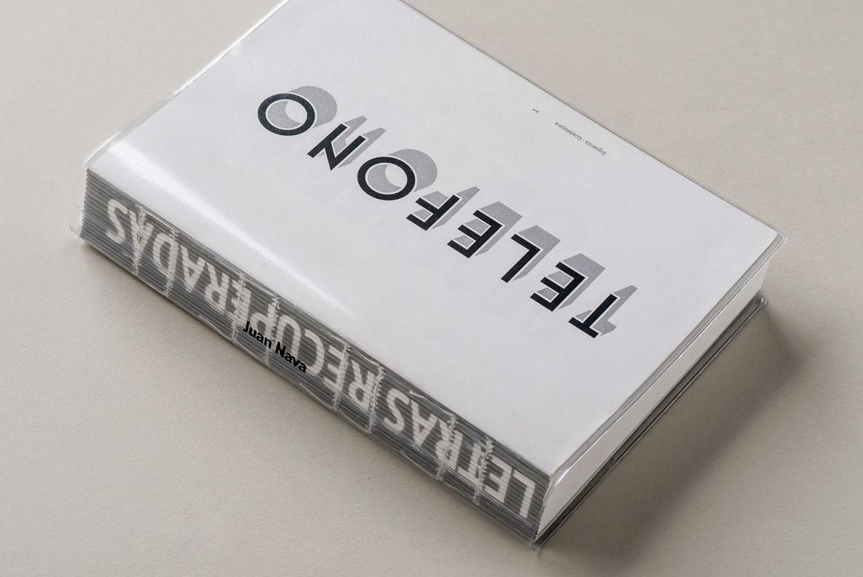 Impresión libro 'Letras 'Recuperadas' de Juan Nava