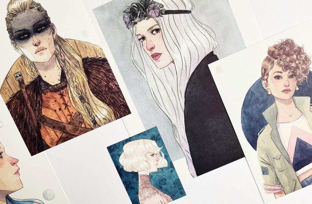 Esther Gili y sus ilustraciones llenas de calma y fuerza