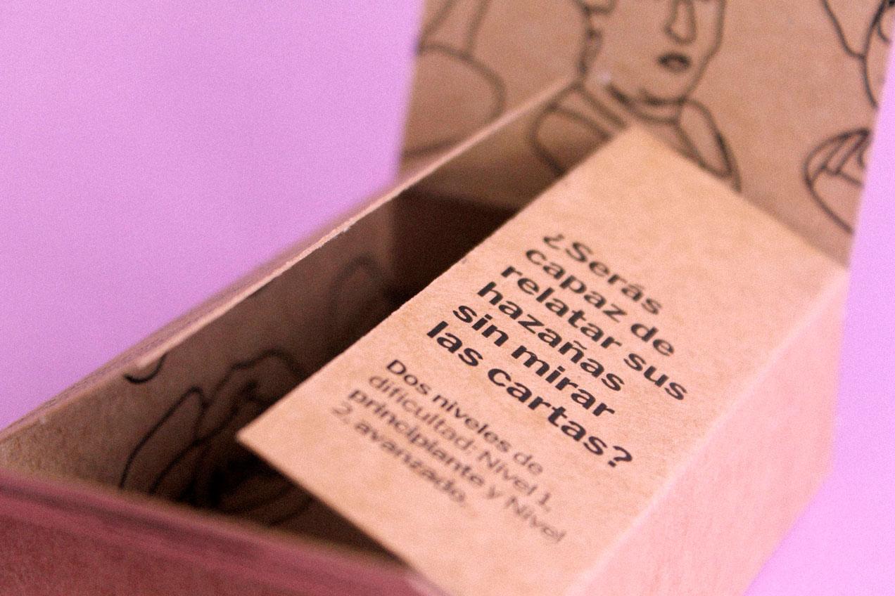 'Feme', un juego de cartas que promueve el liderazgo femenino