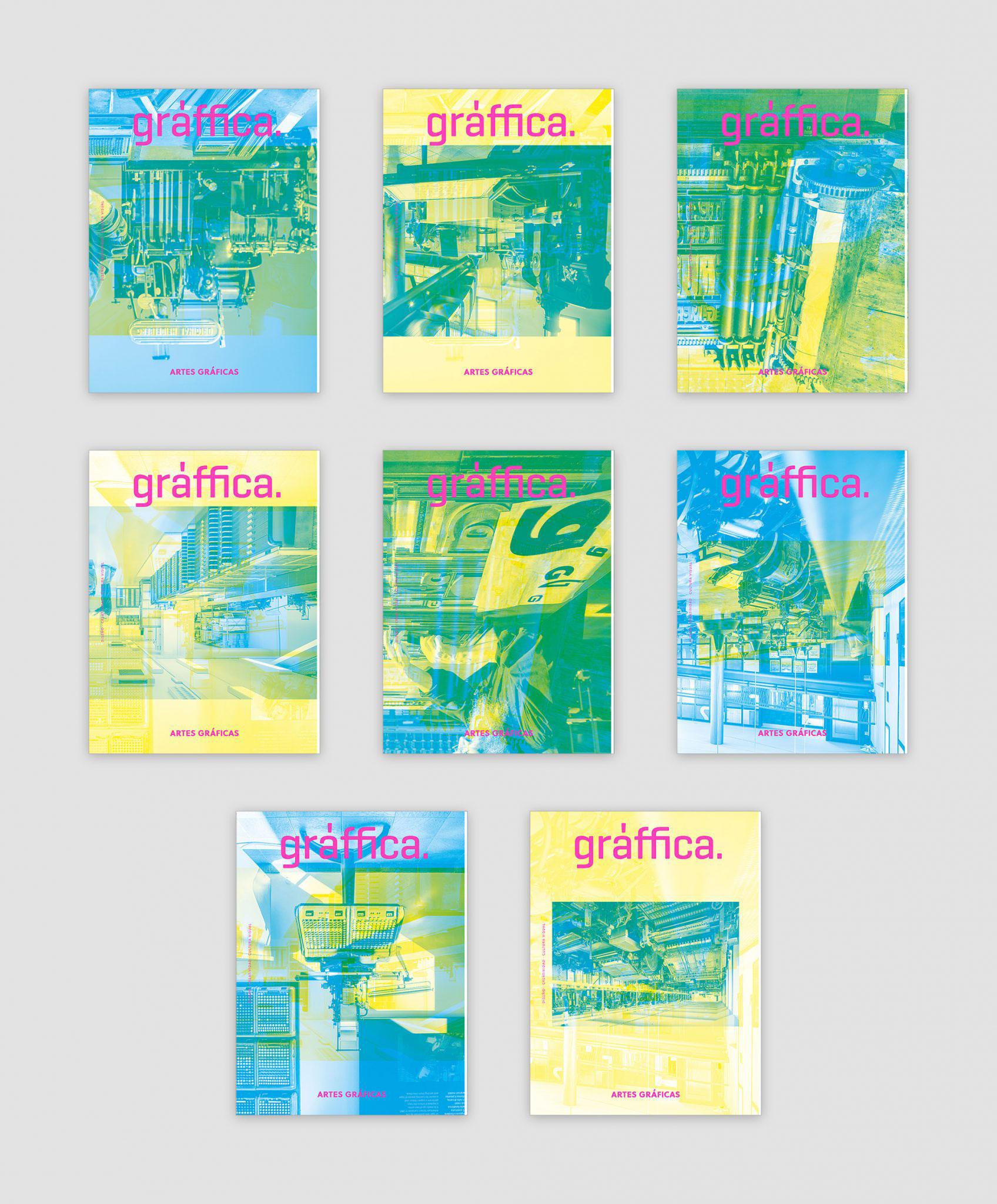 composición de portadas de Gràffica