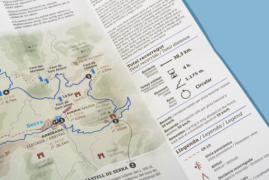 Planos turísticos Serra