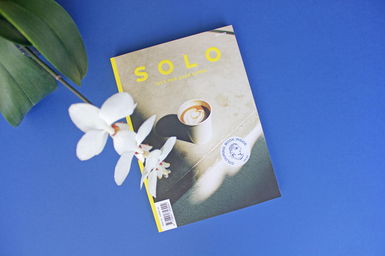 SOLO Magazine #6, a la cafeína le gusta nuestro papel