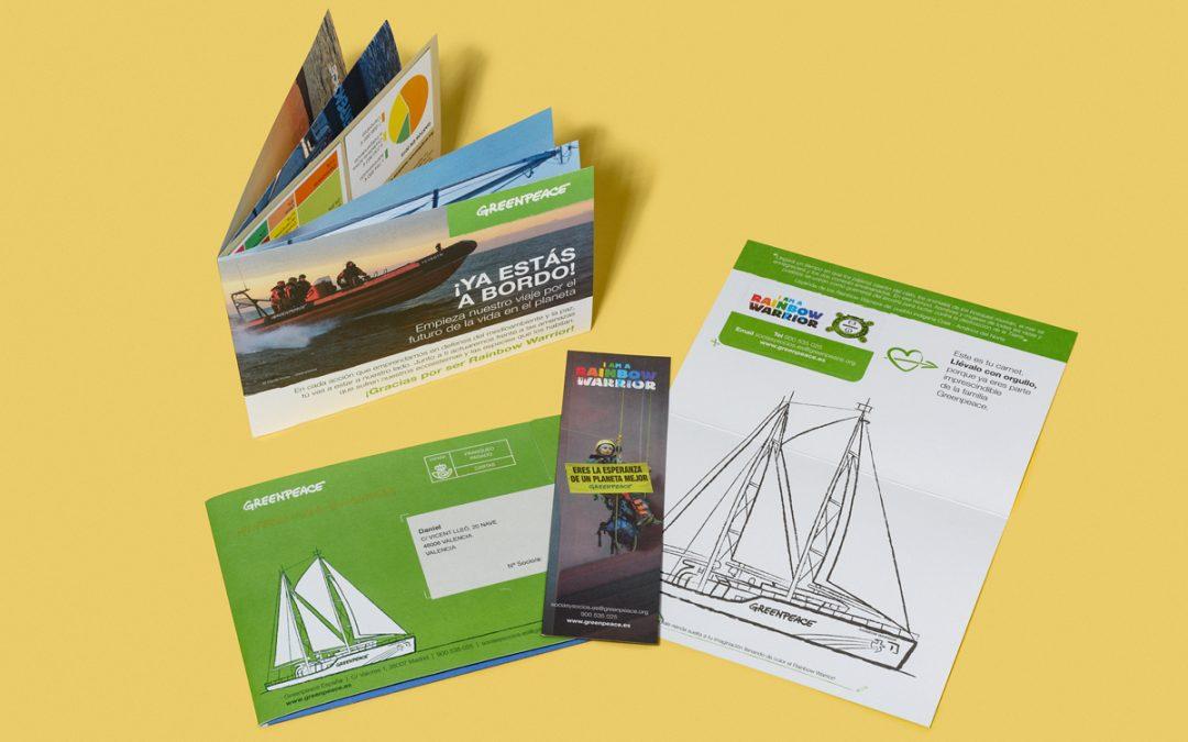 Un 'Welcome Pack' para Greenpeace España