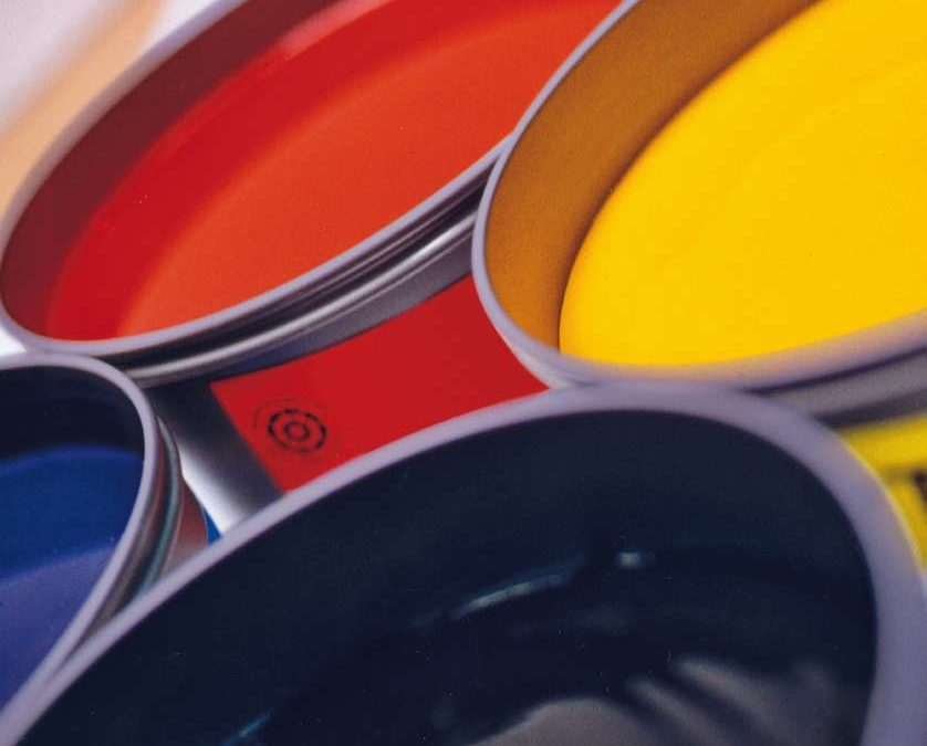Tintas ecológicas para impresión