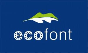 ecofont_logo_blauwe_bg