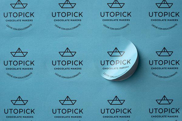 Adhesivos y pegatinas redondas, cuadradas o personalizadas