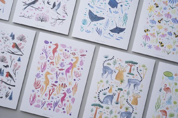 Láminas para ilustradores desde A6 hasta A3